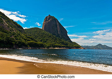 Sugarloaf Mountain - View of Sugarloaf Mountain from the Red...