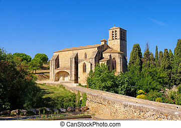 church Saint Hyppolyte in Fontes, southern France