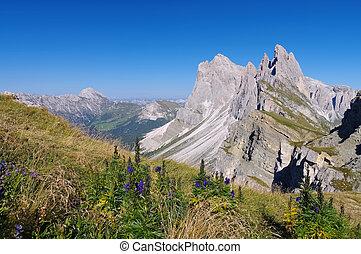 Gruppo delle Odle in Dolomites