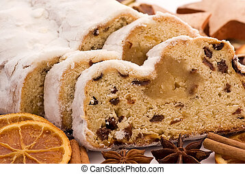 Christmas Stollen with Decoration