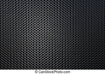 Dark metallic chain armor pattern background