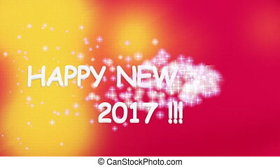 New Year 2017 With Magic Wand