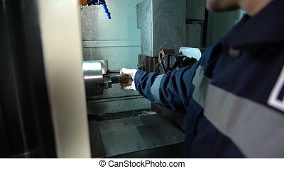Manufacture of parts on CNC machines - Milling and turning...