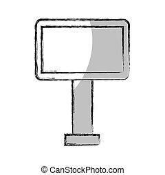 big hoarding isolated icon