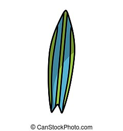 surf board isolated icon vector illustration design