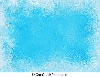 frozen window ice blue frame backgrounds - frozen window ice...