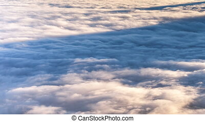 Beutiful Sunrise above the clouds. - Beutiful Sunrise above...