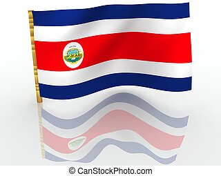 Costa Rica National Flag