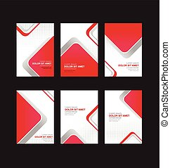 004 Abstract background collection vector illustration