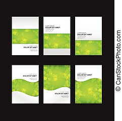 005 Abstract background collection vector illustration