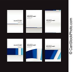 006 Abstract background collection vector illustration