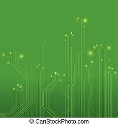 Circuit Board Illustration