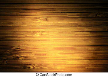 Wood Planks Background, Light Spot on Wooden Plank Wall Texture, Abstract Frame