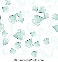 Diamonds seamless pattern