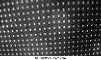 Universe unsaturated moving bokeh unfocused lights in club -...