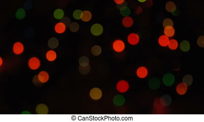 Blurred unfocused background with lights - Blurred unfocused...