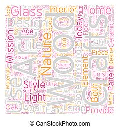 Arts and Crafts Revival text background wordcloud concept