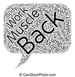Backache Is a Disorder That Is Easy to Prevent text...