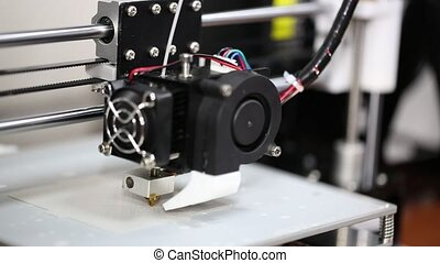 3d printer mechanism working yelement design of the device...