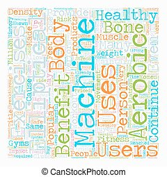 Benefits Of Elliptical Machines text background wordcloud...