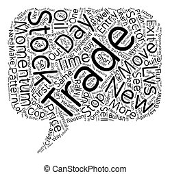 Better Trades Momentum Part III text background wordcloud...