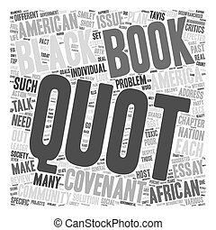 Book Review The Covenant with Black America text background...