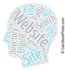 Boost Traffic to Your Website text background wordcloud concept
