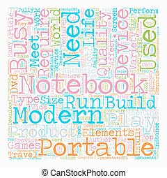 Build Your Own Notebook text background wordcloud concept