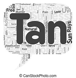 california tan sunless2 1 text background wordcloud concept