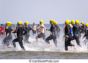 "Triathlon - ""Against the Wind Triathlon"" 02.07.2010 in St...."