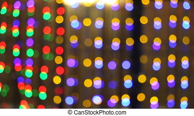 Abstract blinking lights 1 hd