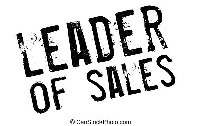 Leader of sales stamp. Grunge design with dust scratches....