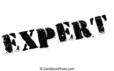 Expert rubber stamp - Expert stamp. Grunge design with dust...