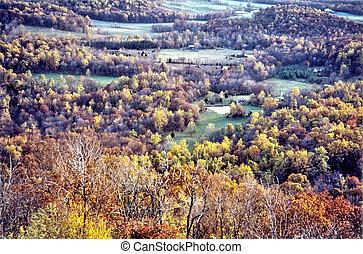 Shenandoah landscape 2000 - Landscape in Shenandoah National...