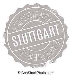 Stuttgart stamp rubber grunge - Stuttgart stamp. Grunge...