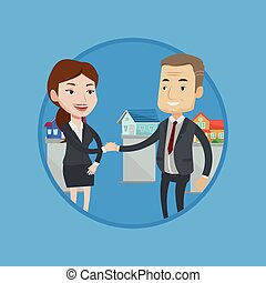Agreement between real estate agent and buyer. - Real estate...