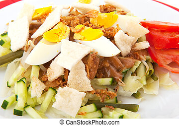 Indonesian Gado Gado - Indonesian vegetarian food Gado Gado...