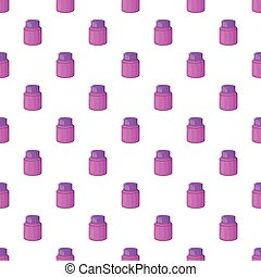 Shaving cream pattern, cartoon style - Shaving cream...