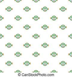 Water meter pattern, cartoon style - Water meter pattern....