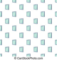 Tablet pattern, cartoon style - Tablet pattern. Cartoon...