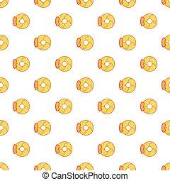Brake disk pattern, cartoon style - Brake disk pattern....