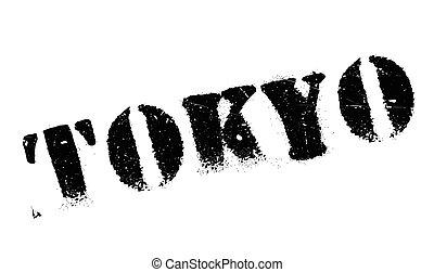 Tokyo stamp rubber grunge - Tokyo stamp. Grunge design with...