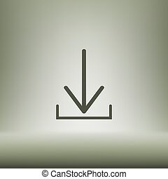 downloaden, pictogram