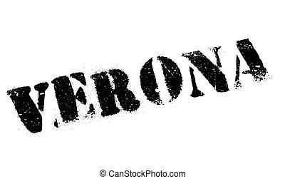 Verona stamp rubber grunge - Verona stamp. Grunge design...