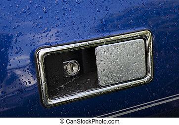Motor vehicle door handle