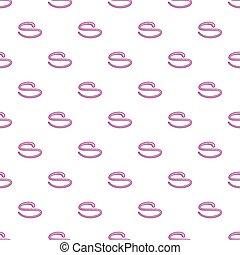 Helminth pattern, cartoon style - Helminth pattern. Cartoon...