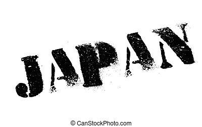 Japan stamp rubber grunge - Japan stamp. Grunge design with...