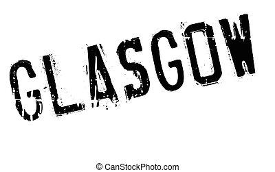 Glasgow stamp rubber grunge - Glasgow stamp. Grunge design...