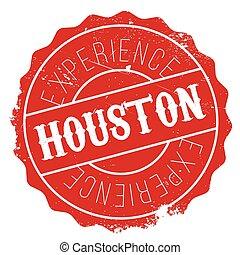 Houston stamp rubber grunge - Houston stamp. Grunge design...