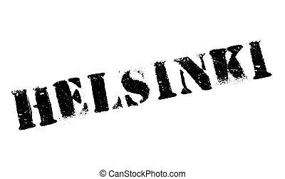 Helsinki stamp rubber grunge - Helsinki stamp. Grunge design...